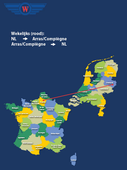 Transport Frankrijk