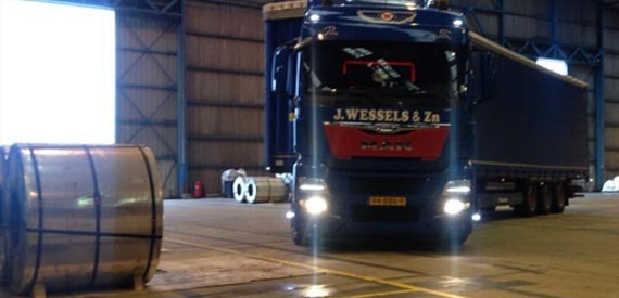 Internationaal coiltransport Wessels