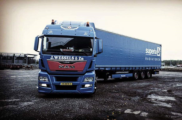 Nationaal transport J. Wessels & Zn.