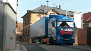 Transport naar België