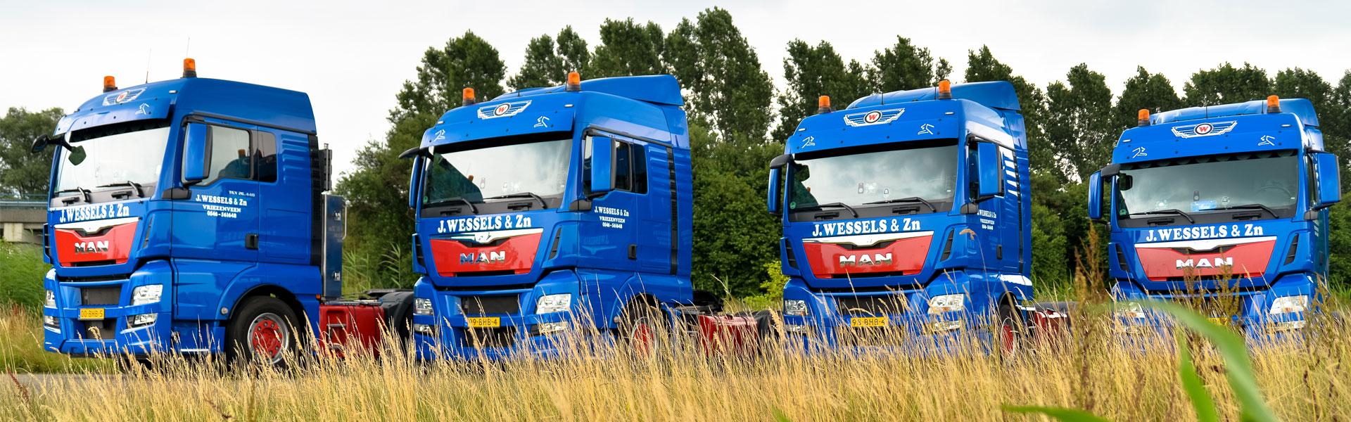 Nationaal en internationaal Transportbedrijf J. Wessels & Zn.